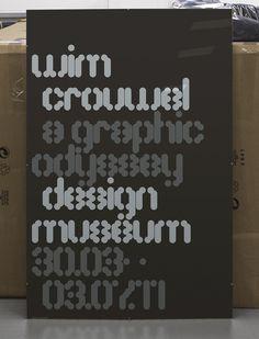 Wim Crouwel 'A Graphic Odyssey' « MuirMcNeil #muirmcneil #graphic #odyssey #crouwel #wim