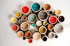Log bowls by Loyal Loot #wood #natural #style #bowls
