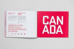 The Canadian Olympic Team Brand | CreativeRoots - Art and design inspiration from around the world #branding #guidelines #athletics #style #