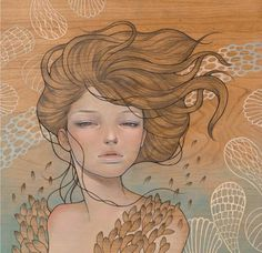 Paintings by Audrey Kawasaki #audrey #kawasaki #paintings