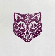 by pedro oyarbide, saint kilda #vintage #logo #animal #cat