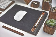 The Grovemade Desk Collectionin technology style fashion mainCategory #desktop #computer #accessories #wood