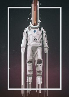 Poster by Martin Nabelek #inspiration #creative #movie #interstellar #print #design #space #unique #poster #film