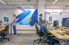 PayPal Headquarters Renovation / HGA and SWA Group / Open Office Space