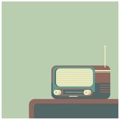 #illustrator #radio #vectorial