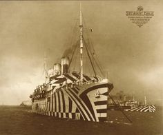SS_Empress_of_Russia_1918 #dazzle