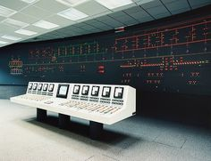Hydro Power by Rüdiger Nehmzow #photography #graphic #control room