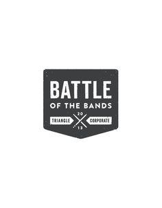 2013 Battle of the Bands Logo #lawson #print #matt #bands #screen #battle #brochure