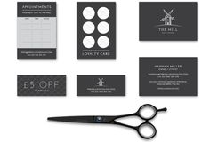 The Mill branding and stationery, by Redspa http://redspa.uk