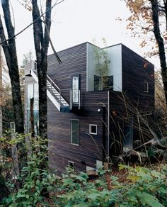 The Pursuit Aesthetic #exterior #wood #architecture #overcast