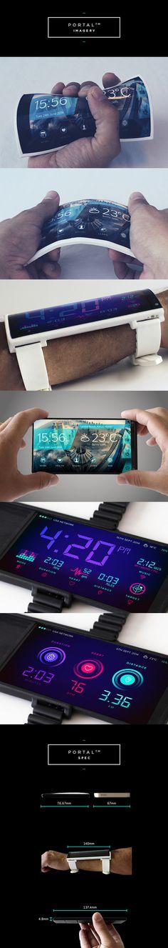 PORTAL™ // Inspire Greatness   https://www.indiegogo.com/projects/portal-by-arubixs-flexible-wearable-smartphone