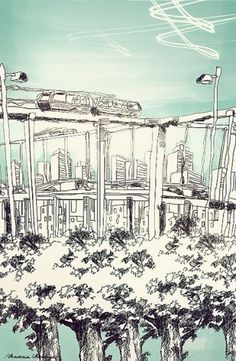 The Work of Andrea Montoya #illustration #art