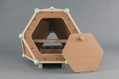 Urban hen house #urban #house #hen #design #product #industrial