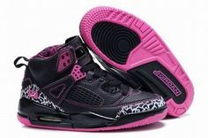 Air Jordan 3.5 Retro Black/Pink Kids's #shoes