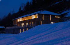 House in Crésuz by Ralph Germann Architects #modern #design #minimalism #minimal #leibal #minimalist