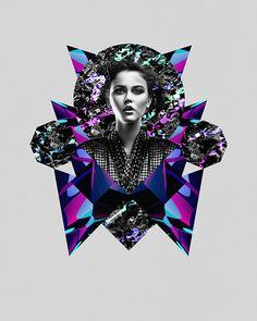 Power #matthews #design #graphic #texture #collage #3d #logs #digiatl