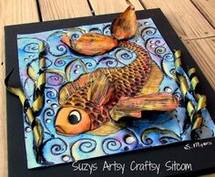 #fish #cool #water #art #colors #design #art #paint