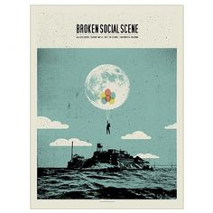 Band Job :: Music Art & Awesome Design :: Broken Social Scene _ The Fillmore San Francisco