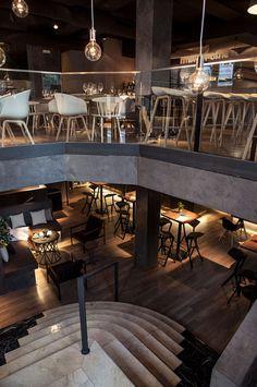 CJWHO ™ (Restaurante Sexto, Madrid by David Zafra David...) #spain #madrid #design #interiors #restaurant #architecture