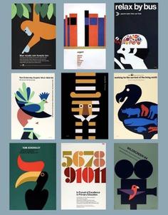 British designer Tom Eckersley (1914-1997).