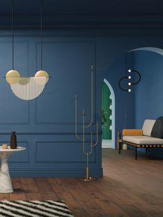 Seasons on Behance  #3D #seasons #weather #colors #pastel #interior #design #decoration