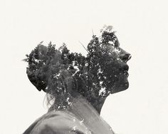 Multiple Exposure Portraits | koikoikoi #photography #graphic #designer #exposure #double #christoffer #relander