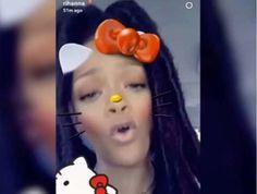 Rihanna's Snapchat Username