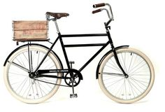 All Things Stylish #seat #crate #bicycle #basket #rides #leather #spring
