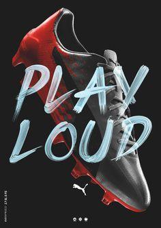 PUMA PLAY LOUD by Jeremy Haunschild
