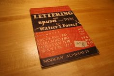 All sizes | Vintage Lettering Book | Flickr - Photo Sharing! #cover #type #lettering #book