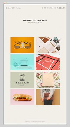 Dennis Adelmann #website #layout #design #web