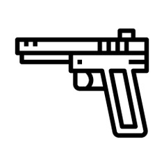 See more icon inspiration related to gun, miscellaneous, pistols, handgun, pistol and weapons on Flaticon.