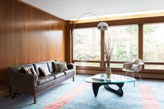 House Tour: A Restored Mid-Century Home in Rhode Island | Apartment Therapy