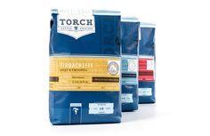 coffee, torch, blue, sticker, wrap, detail