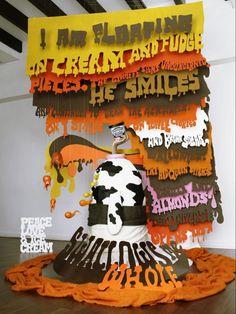 unilever ice cream 04 #advertising #typography