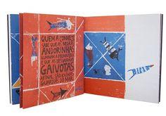 O QUEBRA-CABEÇAS on the Behance Network #stamps #design #graphic #book #illustration #childrens #editorial