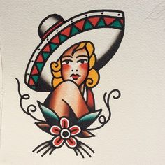 artedejorge: Continue split with @marcosortegatattoo mexicana available for tattoo #classictattoos #oldschooltattoos #traditionaltattoos #t