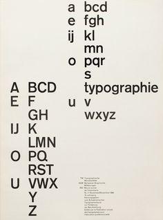 Swiss typography Robert Büchler 1961