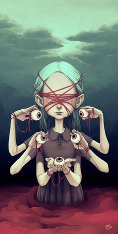 Eyes for you! #digital #illustration #art