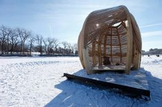Rope Pavilion / Kevin Erickson #pavilion #architecture