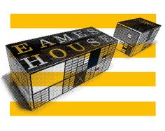 House Industries, Eames Century Modern, Uncle Goose, Eames House Blocks #design #graphic #eames