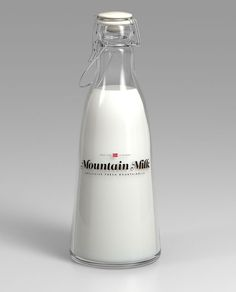 lovley package anders drage1 #milk #mountain #bottle
