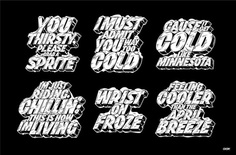 Sprite Cold Series '17 – Erik Marinovich – Friends of Type