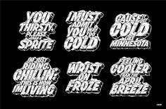 Sprite Cold Series '17 – Erik Marinovich – Friends of Type