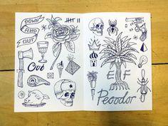 El Famoso / on Design Work Life #illustration