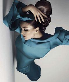 Fashion photography(Vogue Italia February 2013:So Much Chic!Photographer:Sølve Sundsbø,Stylist: Anastasia Barbieri, viapumpkiney #fashion