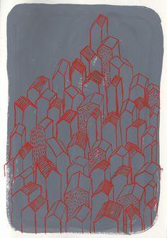 http://mairamartines.tumblr.com/ #illustration #gouache