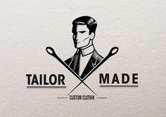 tumblr_m19qupVU2R1ro34sdo3_1280.jpg (800×565) #tailor #logo #retro #vintage