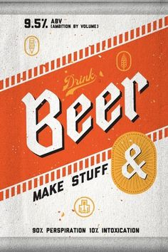 To Resolve Project | grayhood graphic design & illustration #beer #design