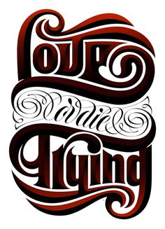 Boris Pelcer :: Lettering For You II #die #boris #lettering #lfy #you #borispelcer #or #lfyii #for #custom #trying #pelcer #2 #love
